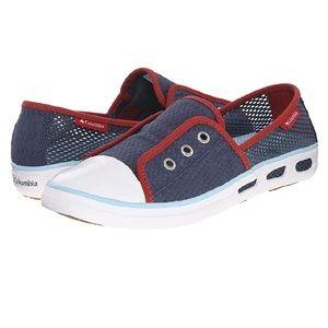 Columbia Vulc N Vent Bombie slip-on mesh sneakers